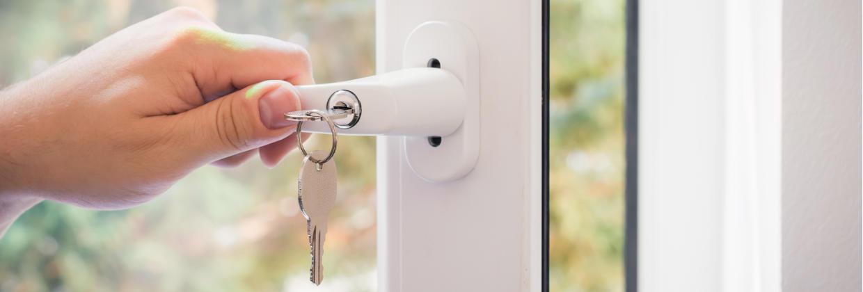 Med låsbara handtag säkrar du dina fönster mot inbrott
