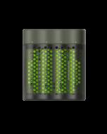 Snabbladdare GP ReCyko M451 inkl 4 st batterier