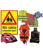 Barnsäkerhetspaket från 3 års ålder