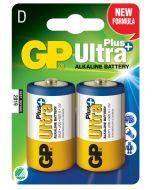 Engångsbatteri GP Ultra D / LR20 2-pack