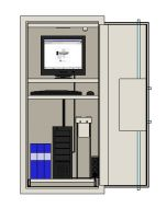 Serversäkerhetsskåp Robursafe RSKS 1600