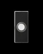 Tryckknapp till trådbundna dörrklockor Honeywell D534 Lightspot Svart