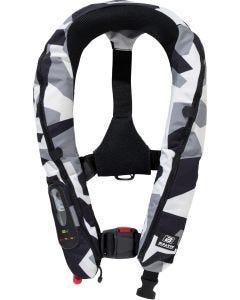 Uppblåsbar räddningsväst Baltic Legend 165 Camouflage utan sele