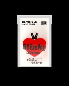Reflex Blinky Heart med LED belysning