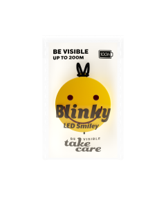 Reflex Blinky Smiley med LED belysning