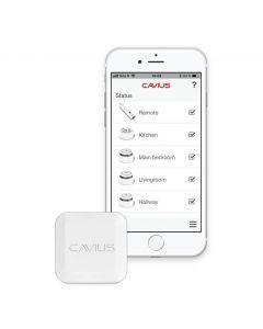 Cavius Smart Alarm Hub med tillgång till kostnadsfri app
