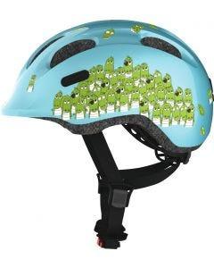 REA - Cykelhjälm för barn ABUS SMILEY 2.0 Blue Croco - Small