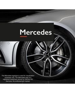 Fälglås till Mercedes fälgar Rimgard 4-pack