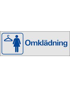Omklädning Dam