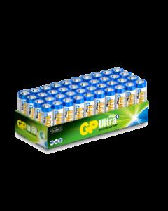 Engångsbatteri GP Ultra Plus AA /  LR6 - 40-pack