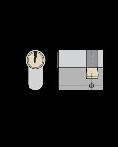 Eurocylinder ASSA 13M23 enkelcylinder med ASSA Basic 1300 låsning