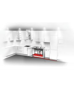 Paketerbjudande - Vattensäkert kök med diskmaskin