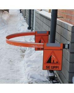 Varningssystem för snö- och isras Isidor - Lång bom