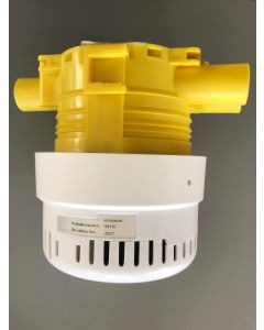 Trådbunden sammankopplingsbar brandvarnare Deltronic X10i - Monterad på dosa - sida