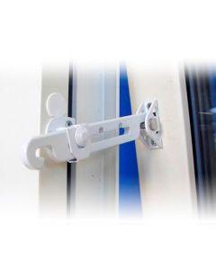 Fönsterspärr utåtgående ASSA 393 vit