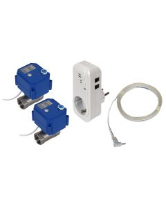 2 st Läckagebrytare WaterFuse® Plugin inklusive ventiler